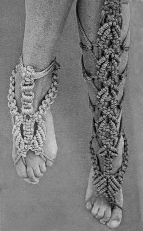 macrame-feet